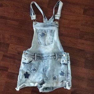 Overalls shorts